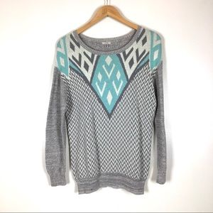 Ecoté Urban Outfitters Patterned sweater